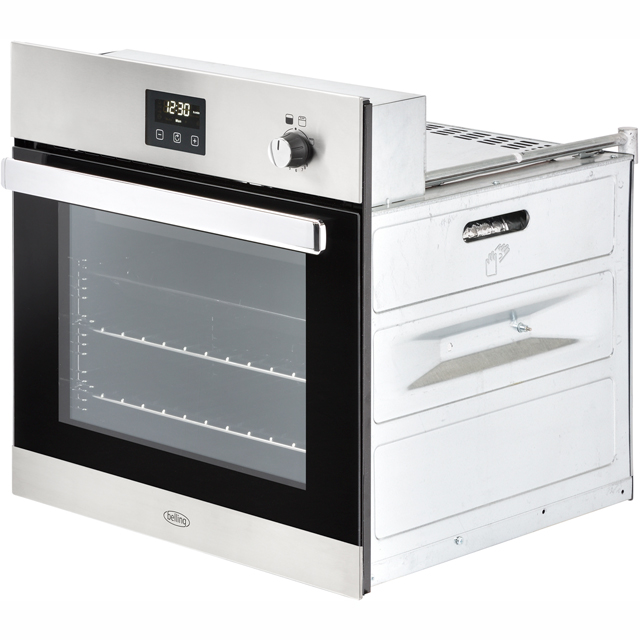 Belling BI602G Built In Gas Single Oven - Black - BI602G_BK - 2