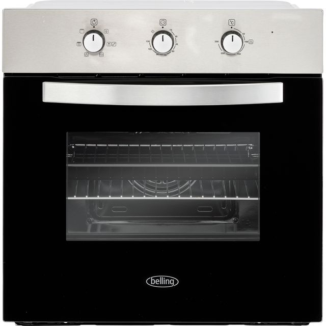 Belling BI602MM Built In Electric Single Oven - Stainless Steel - BI602MM_SS - 1