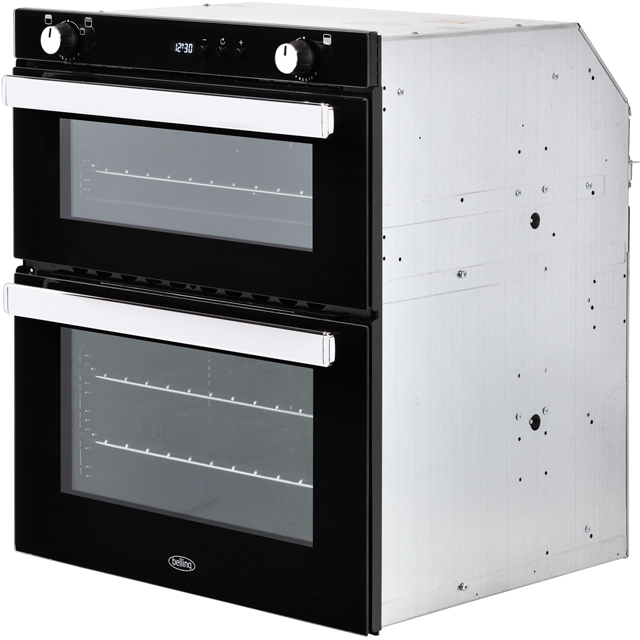 Belling BI702G Built Under Double Oven - Black - BI702G_BK - 3