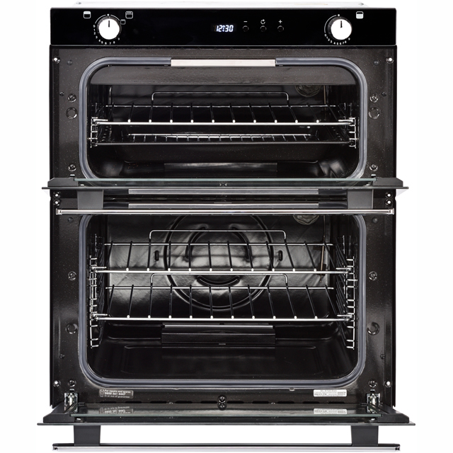 Belling BI702G Built Under Double Oven - Black - BI702G_BK - 5