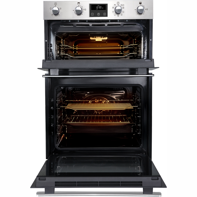 Belling BI902FP Built In Double Oven - Black - BI902FP_BK - 3