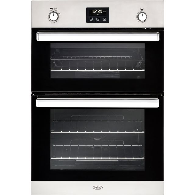 Belling BI902G Built In Double Oven - Stainless Steel - A/A Rated - BI902G_SS - 1