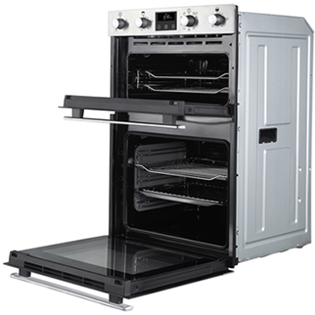 Belling BI902MFCT Built In Double Oven - Stainless Steel - BI902MFCT_SS - 5