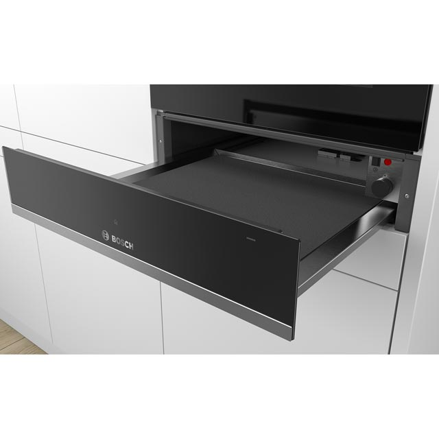 Bosch Serie 6 BIC510NS0B Built In Warming Drawer - Stainless Steel - BIC510NS0B_SS - 2