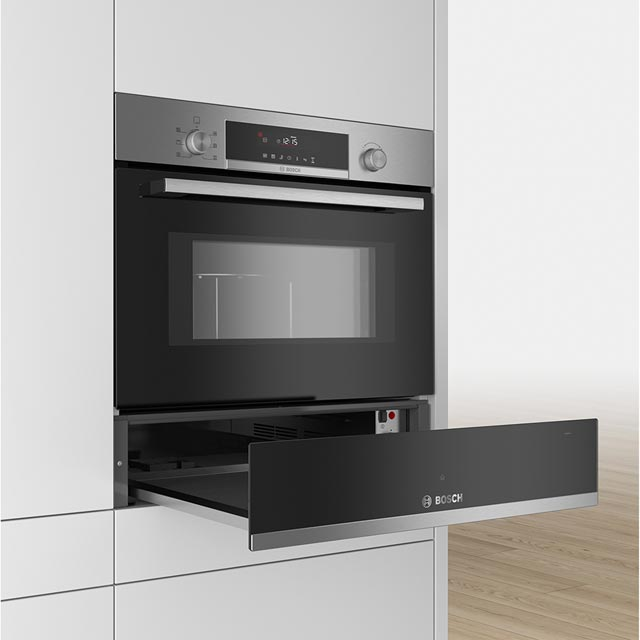 Bosch Serie 6 BIC510NS0B Built In Warming Drawer - Stainless Steel - BIC510NS0B_SS - 3
