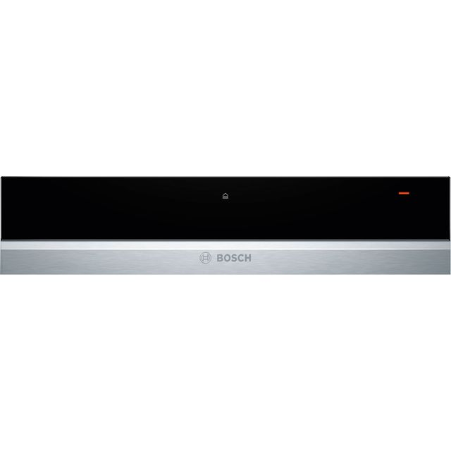 Bosch Serie 8 BIC630NS1B Built In Warming Drawer - Brushed Steel - BIC630NS1B_BS - 1