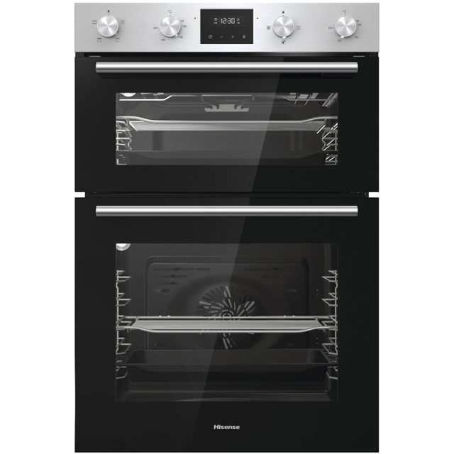 Hisense BID95211XUK Built In Electric Double Oven - Stainless Steel - BID95211XUK_SSL - 1