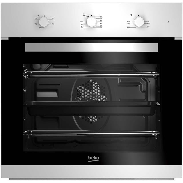 Beko EcoSmart BIF22100W Built In Electric Single Oven - White - A Rated - BIF22100W_WH - 1