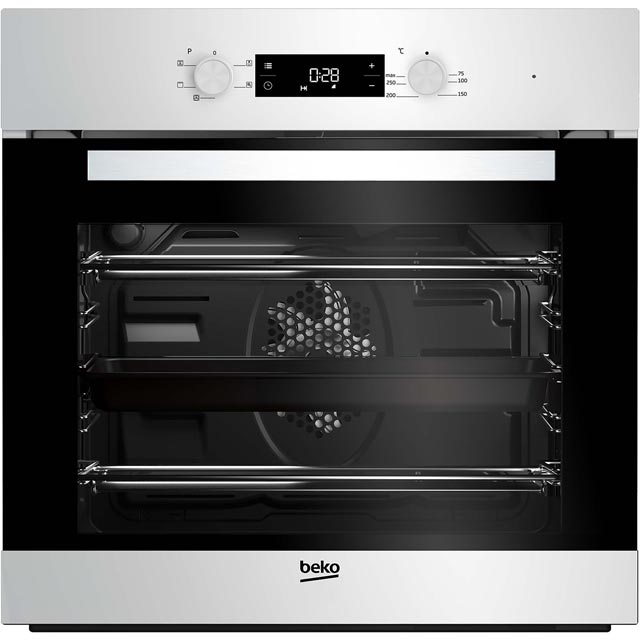 Beko EcoSmart BIF22300W Built In Electric Single Oven - White - A Rated - BIF22300W_WH - 1