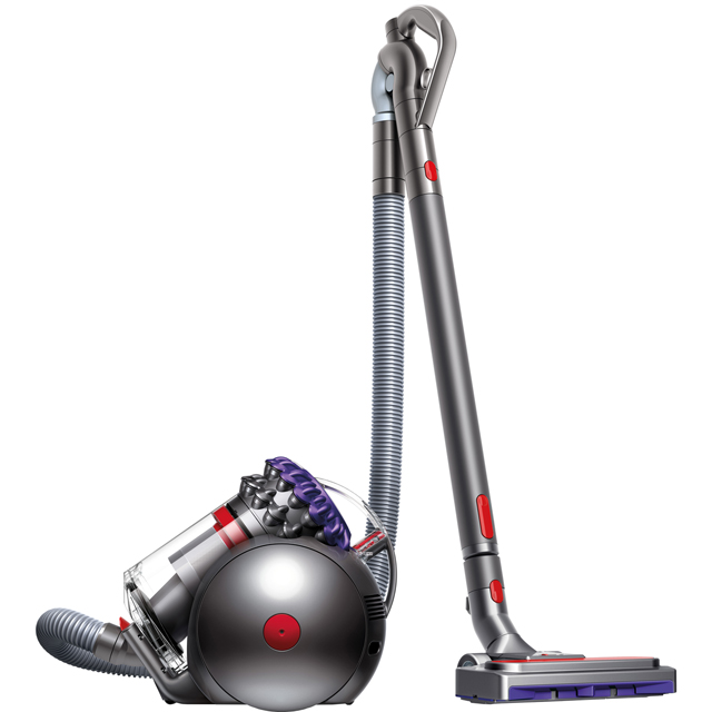 Dyson Big Ball Animal 2 Cylinder Vacuum Cleaner in Iron / Purple