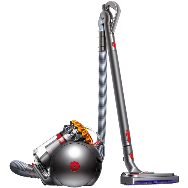 Dyson Big Ball Multi Floor 2 Big Ball Multi Floor 2 Cylinder Vacuum Cleaner in Silver / Yellow