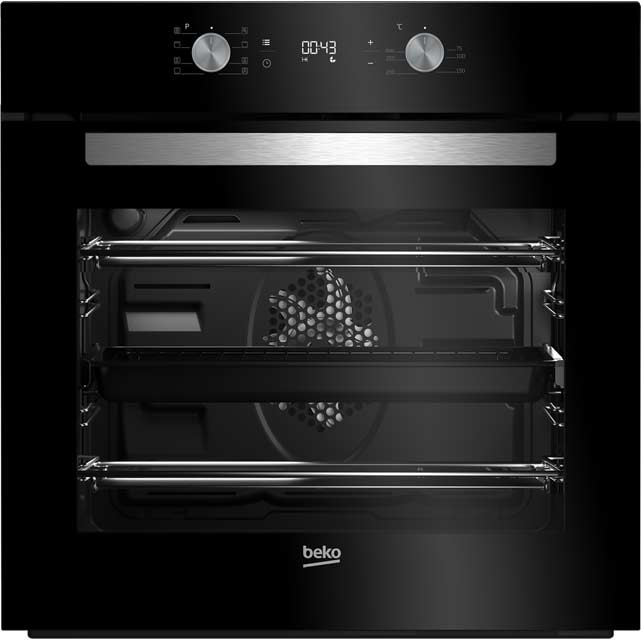 Beko BIM14300BC Built In Electric Single Oven - Black - A Rated - BIM14300BC_BK - 1