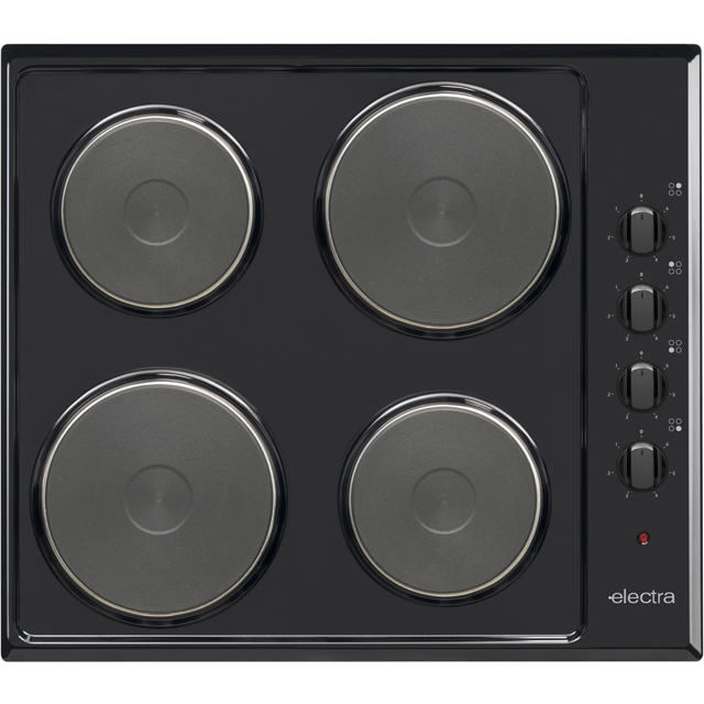 Electra BISH4B Built In Solid Plate Hob - Black