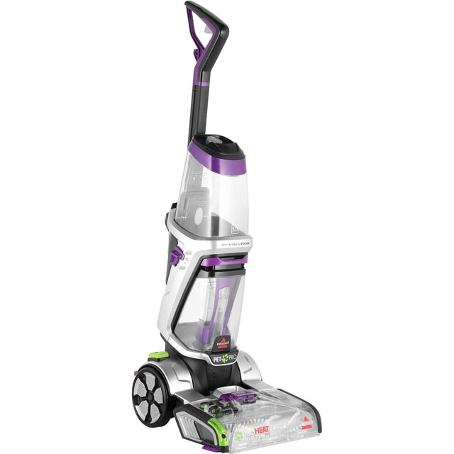 Bissell Revolution 2.0 Pet 20666 Carpet Cleaner with Heated Cleaning