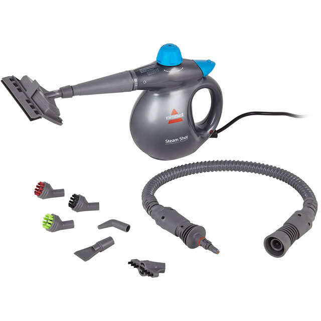 Bissell Steam Shot 2635E Steam Cleaner - Titanium / Blue - 2635E_TIB - 1