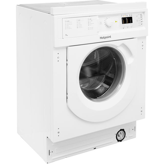 Hotpoint BIWDHL7128 Integrated 7Kg / 5Kg Washer Dryer with 1200 rpm - BIWDHL7128_WH - 2