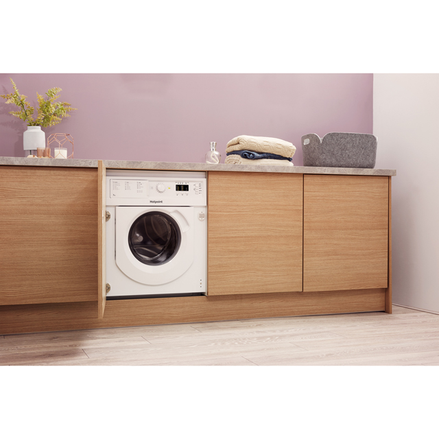 Hotpoint BIWDHL7128 Integrated 7Kg / 5Kg Washer Dryer with 1200 rpm - BIWDHL7128_WH - 5