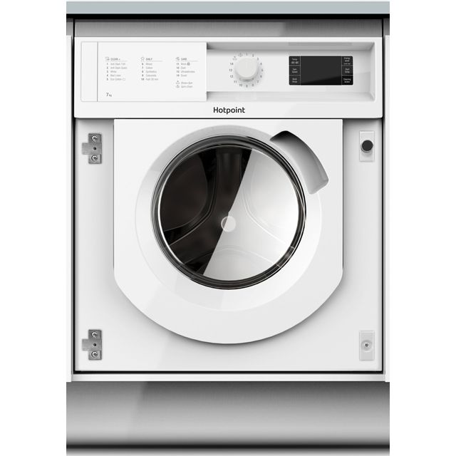 Hotpoint BIWMHG71484 Integrated 7Kg Washing Machine with 1400 rpm - A+++ Rated