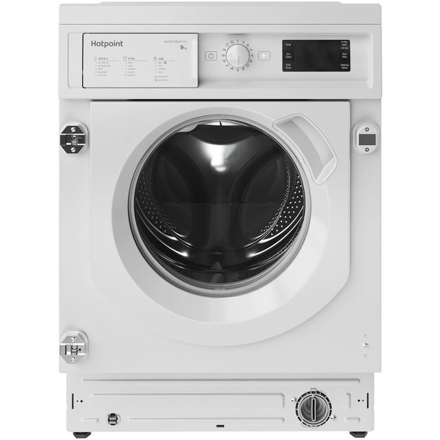 Hotpoint BIWMHG91484UK Integrated 9Kg Washing Machine with 1400 rpm - White - A+++ Rated