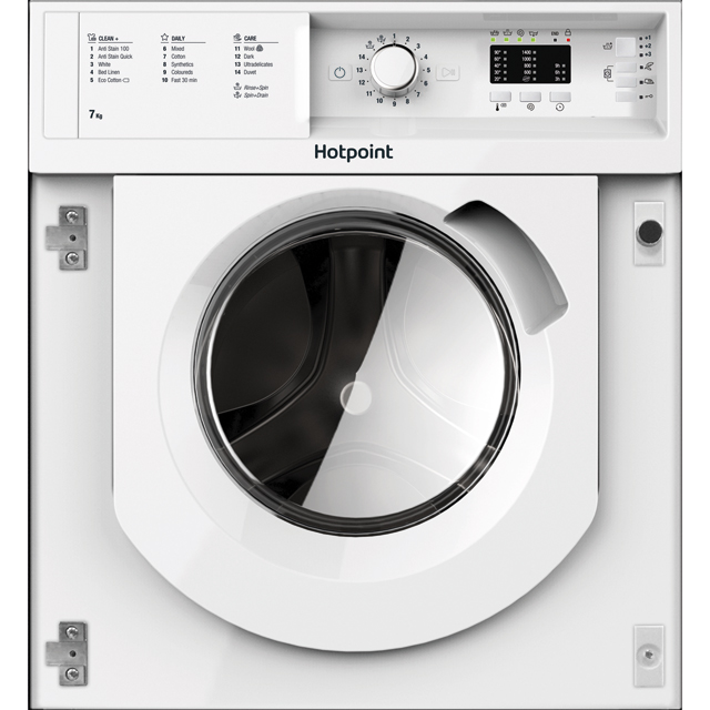 Hotpoint Integrated 7Kg Washing Machine - A+++ Rated