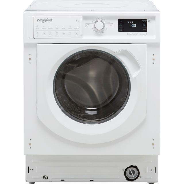 Whirlpool BIWMWG81484UK Integrated 8Kg Washing Machine with 1400 rpm - White - C Rated