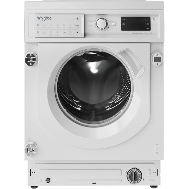 Whirlpool BIWMWG81484UK Integrated 8Kg Washing Machine with 1400 rpm - A+++ Rated
