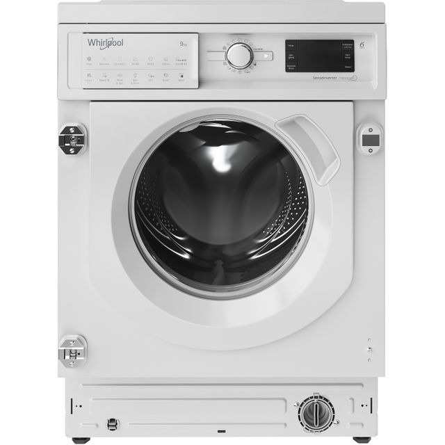 Whirlpool BIWMWG91484UK Integrated 9Kg Washing Machine with 1400 rpm - White - A+++ Rated