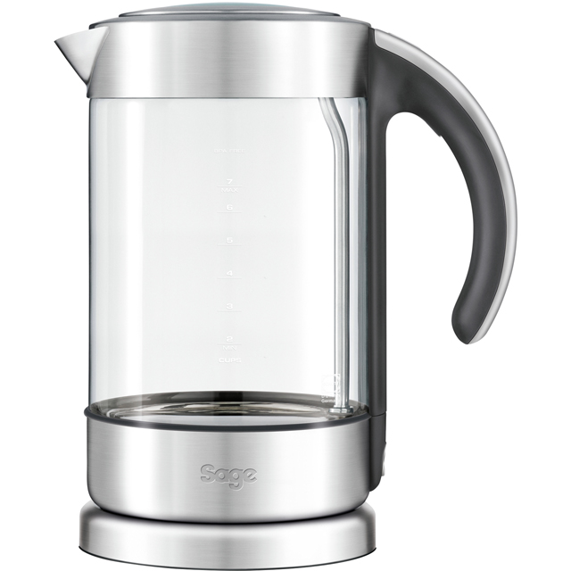 Sage The Crystal Clear Classic Kettle BKE750CLR Kettle - Brushed Steel