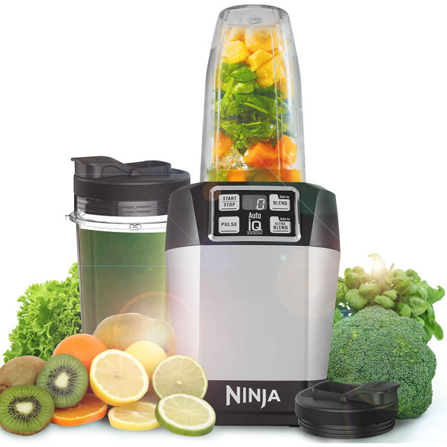 Ninja BL480UK Smoothie Maker - Silver