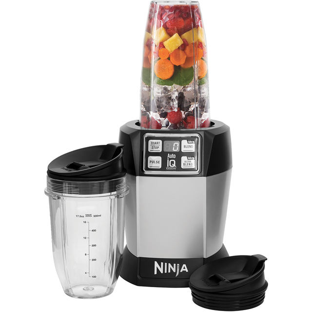 Ninja BL480UK Smoothie Maker - Silver - BL480UK_SI - 1