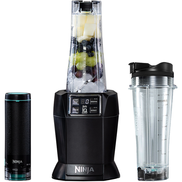 Ninja NutriNinja with FreshVac Technology BL580UKV Smoothie Maker - Black - BL580UKV_BK - 1