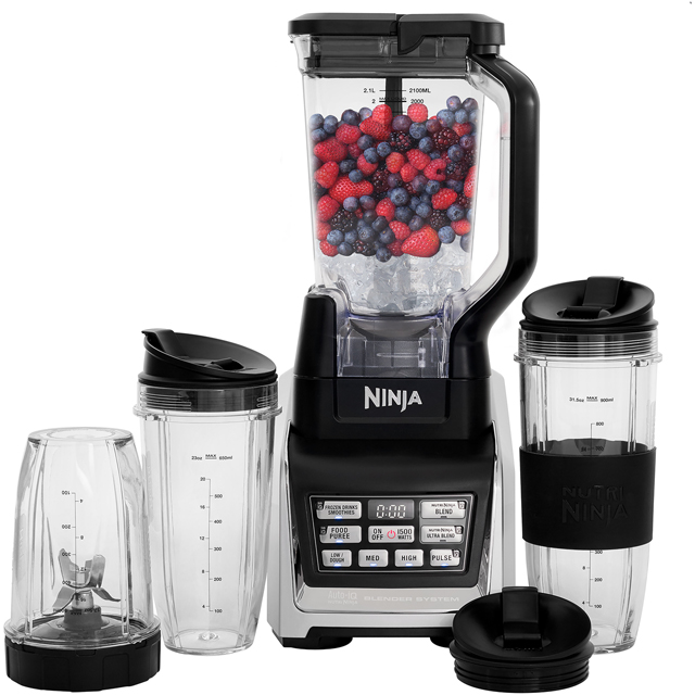 Ninja BL642UK 2.1 Litre Blender - Silver - BL642UK_SI - 1