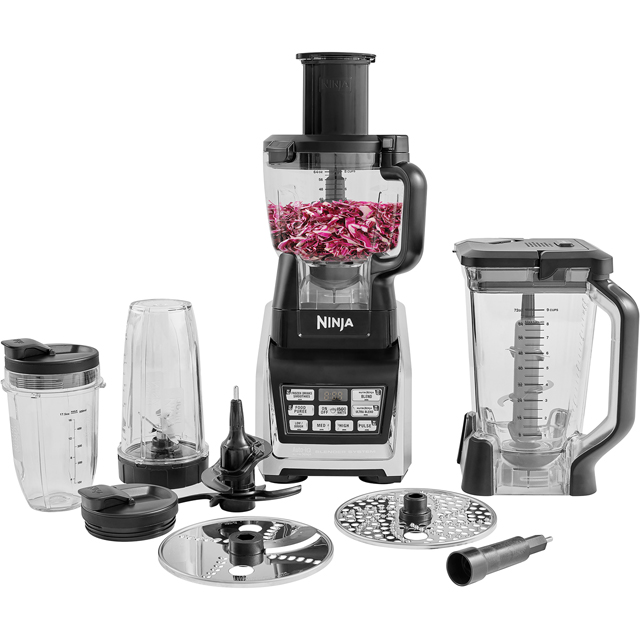 Ninja BL682UK2 Food Processor in Silver