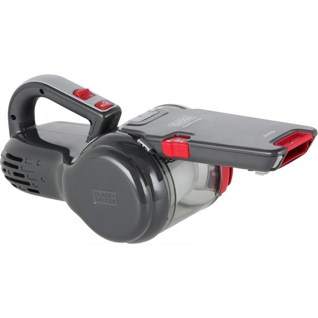 Black & Decker 12v Dustbuster Pivot AutoVac PV1200AV-XJ Handheld Vacuum Cleaner in Grey