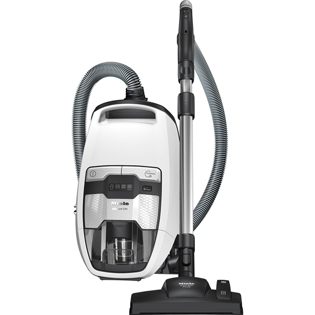Miele Blizzard CX1 Cylinder Vacuum Cleaner in White