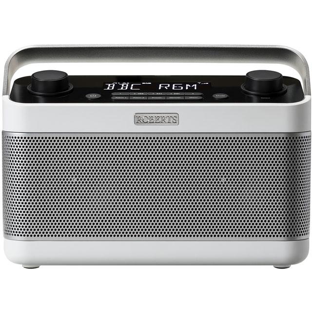 Roberts Radio BLUTUNE5W DAB / DAB+ Digital Radio with FM Tuner - White
