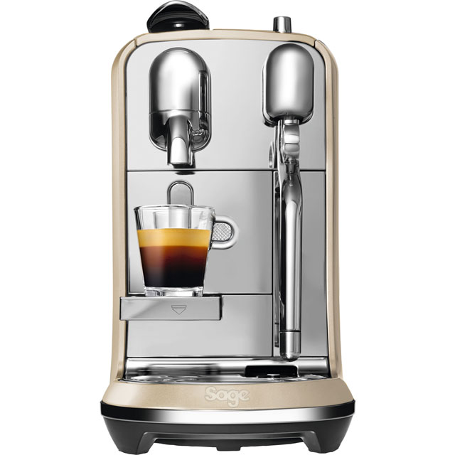 Nespresso By Sage Creatista Plus Bne800bss Coffee Machine