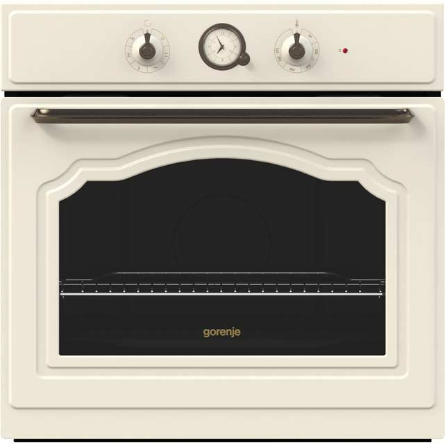 Gorenje Classico Collection BO73CLIUK Built In Electric Single Oven - Ivory Cream - A Rated - BO73CLIUK_IV - 1