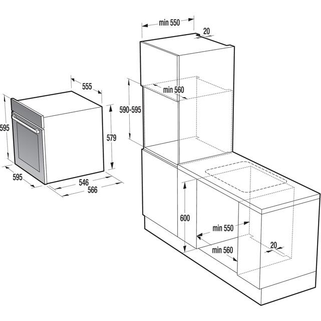 gorenje superior line bo747s30x integrated single oven reviews