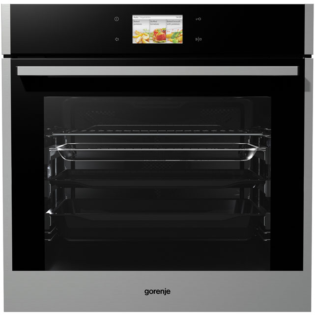 Gorenje Superior Line BO799S50X Built In Electric Single Oven - Stainless Steel - A+ Rated - BO799S50X_SS - 1