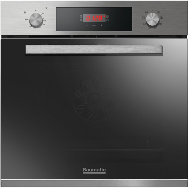 Baumatic Integrated Single Oven in Stainless Steel