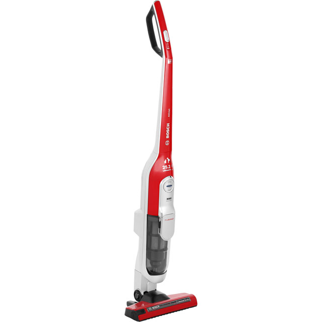 Bosch Athlet Animal BCH6PETGB Cordless Vacuum Cleaner with Pet Hair Removal and up to 60 Minutes Run Time - BCH6PETGB_RD - 1