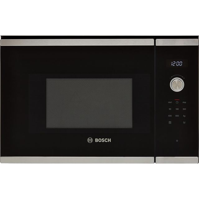 Bosch Serie 6 BFL524MS0B Built In Microwave - Stainless Steel - BFL524MS0B_SS - 1