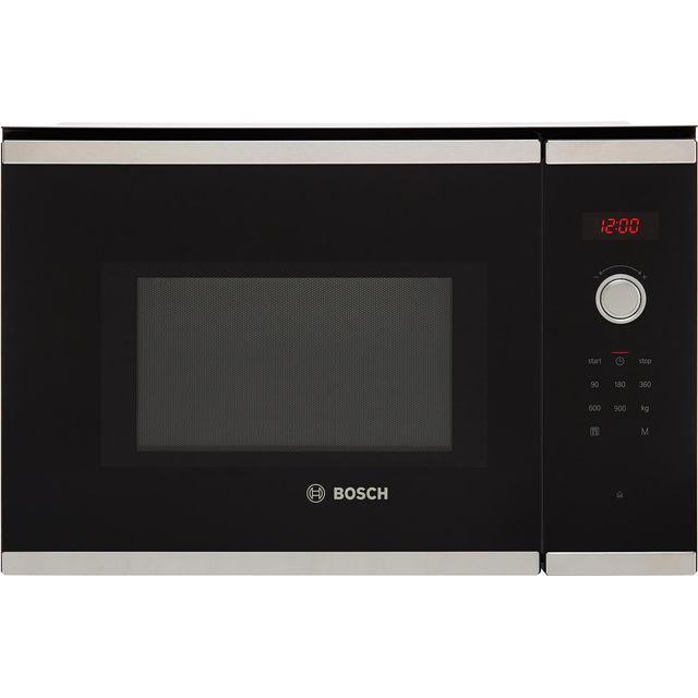 Bosch Serie 4 BFL553MS0B Built In Microwave - Stainless Steel - BFL553MS0B_SS - 1