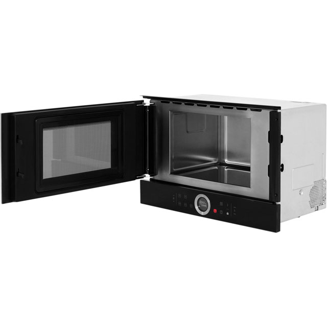 Bosch Serie 8 BFL634GB1B Built In Microwave - Black - BFL634GB1B_BK - 5