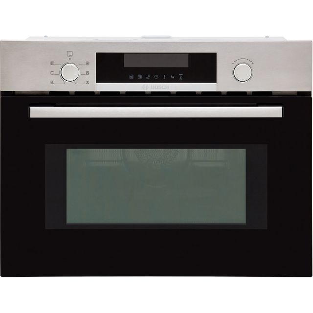 Bosch Serie 4 CMA583MS0B Built In Combination Microwave Oven - Stainless Steel - CMA583MS0B_SS - 1