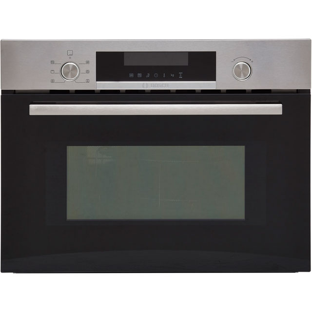 Bosch Serie 6 CMA585MS0B Built In Microwave - Stainless Steel - CMA585MS0B_SS - 1
