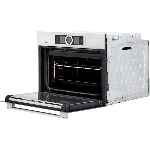 Bosch Serie 8 CSG656BS7B Built In Electric Single Oven - Stainless Steel - CSG656BS7B_SS - 4