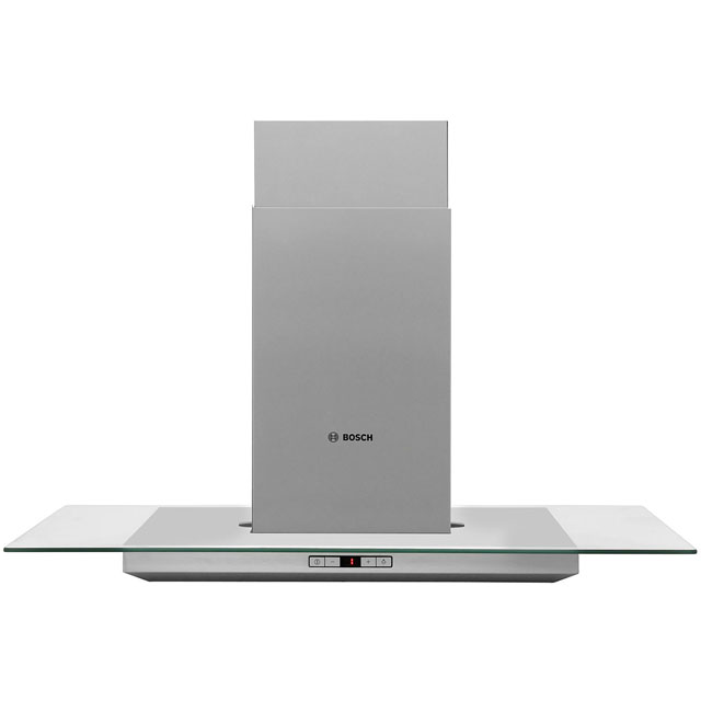 Bosch Serie 6 90 cm Island Cooker Hood - Stainless Steel / Glass - A+ Rated