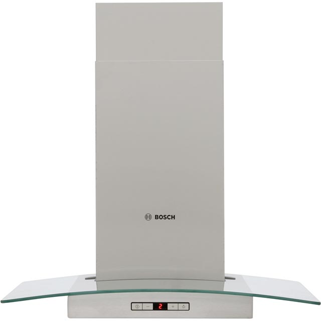 Bosch Serie 6 DWA067E51B 60 cm Chimney Cooker Hood - Stainless Steel / Glass